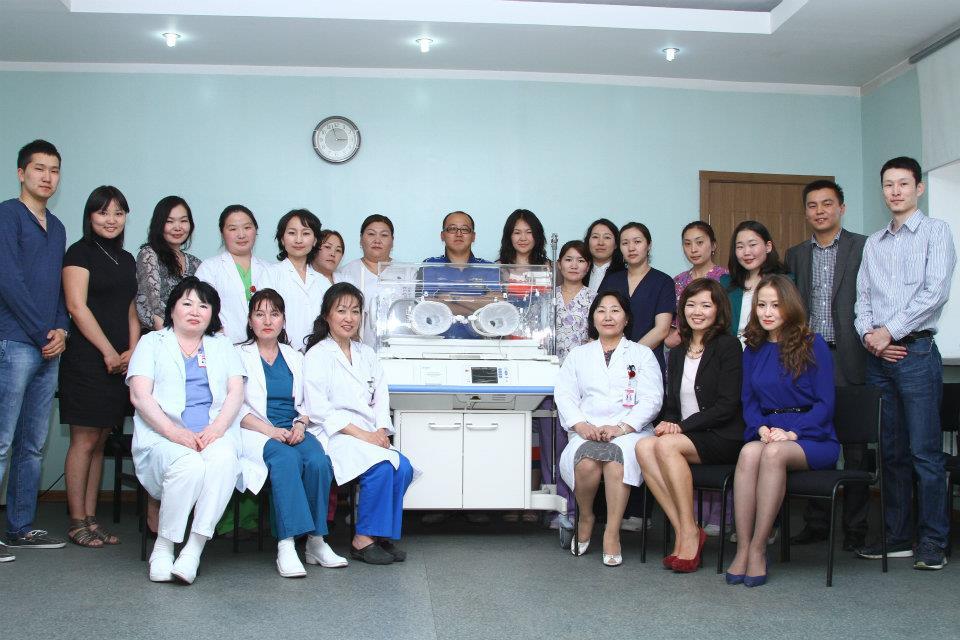 Incubator Donation 2012